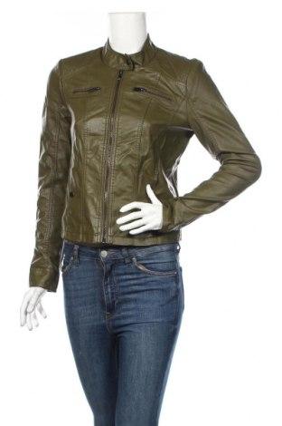 Dámská kožená bunda  Vero Moda, Rozměr M, Barva Zelená, Eko kůže, Cena  703,00Kč