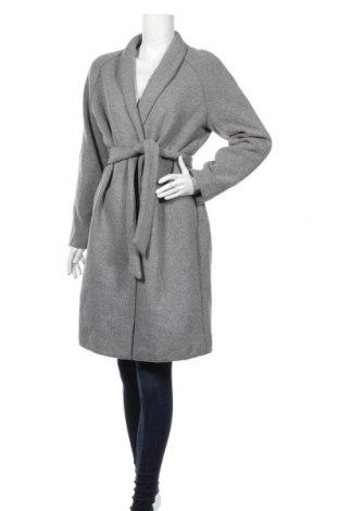 Dámsky kabát  Reserved, Veľkosť L, Farba Sivá, 71% polyester, 16% vlna, 11%acryl , 2% polyamide, Cena  38,27€