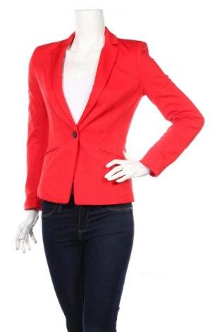 Női blézer H&M, Méret XS, Szín Piros, 74% poliészter, 22% viszkóz, 2% elasztán, Ár 6115 Ft