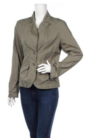 Дамско сако H&M, Размер L, Цвят Зелен, Памук, Цена 16,65лв.