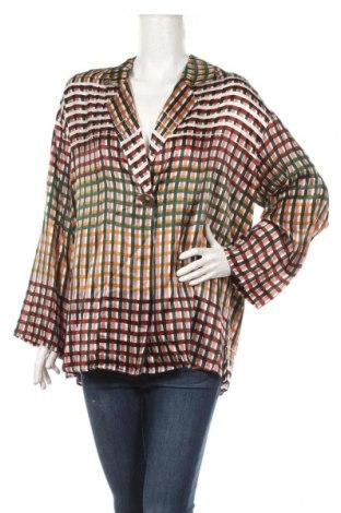 Sacou de femei Mango, Mărime XS, Culoare Multicolor, 100% mătase, Preț 195,40 Lei
