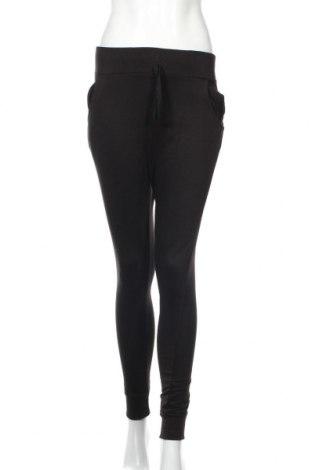 Pantaloni trening de femei Boohoo, Mărime S, Culoare Negru, 52% bumbac, 48% poliester, Preț 68,21 Lei
