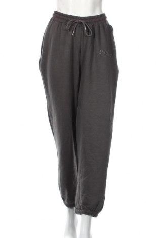 Pantaloni trening de femei Boohoo, Mărime S, Culoare Gri, 50% bumbac, 50% poliester, Preț 68,21 Lei