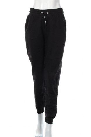 Pantaloni trening de femei Nasty Gal, Mărime M, Culoare Negru, 50% bumbac, 50% poliester, Preț 72,00 Lei