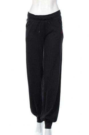 Γυναικείο αθλητικό παντελόνι TCM, Μέγεθος L, Χρώμα Μαύρο, 61% βαμβάκι, 33% πολυεστέρας, 6% ελαστάνη, Τιμή 15,28€