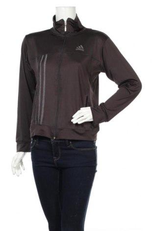 Γυναικεία αθλητική ζακέτα Adidas, Μέγεθος XL, Χρώμα Μαύρο, Τιμή 20,36€