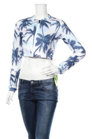 Bluză trening de femei Cropp, Mărime L, Culoare Multicolor, 92% poliester, 8% elastan, Preț 72,00 Lei
