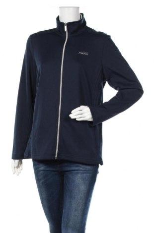 Γυναικεία αθλητική ζακέτα Vittorio Rossi, Μέγεθος XL, Χρώμα Μπλέ, 60% πολυεστέρας, 40% βαμβάκι, Τιμή 24,19€