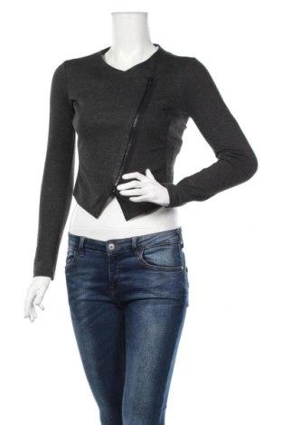 Γυναικείο μπουφάν Armani Exchange, Μέγεθος XS, Χρώμα Γκρί, 62% βισκόζη, 33% πολυαμίδη, 5% ελαστάνη, Τιμή 38,26€