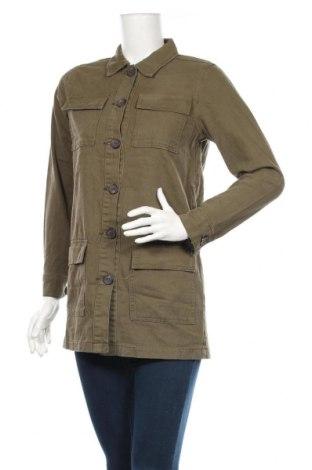 Дамско яке Boohoo, Размер S, Цвят Зелен, 95% памук, 5% полиестер, Цена 23,60лв.