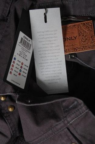 Дамско яке Only, Размер M, Цвят Сив, Памук, Цена 35,60лв.