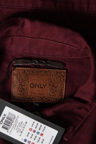 Дамско яке Only, Размер S, Цвят Лилав, Памук, Цена 35,60лв.