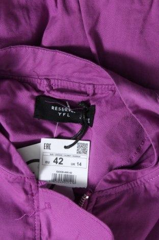 Дамско яке Reserved, Размер L, Цвят Лилав, Памук, Цена 19,60лв.