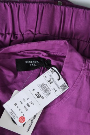 Дамско яке Reserved, Размер XS, Цвят Лилав, Памук, Цена 19,60лв.