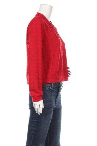 Дамско яке Yfl Reserved, Размер L, Цвят Червен, 96% полиестер, 4% еластан, Цена 22,40лв.