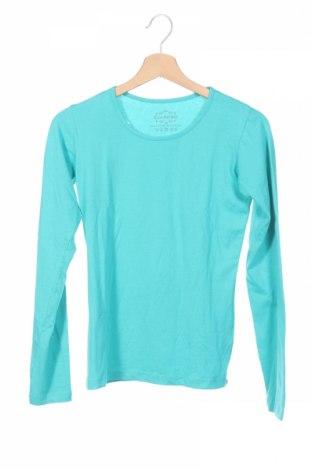 Детска блуза, Размер 12-13y/ 158-164 см, Цвят Син, 95% памук, 5% еластан, Цена 3,94лв.