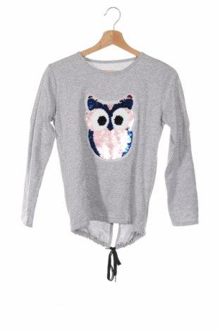 Παιδική μπλούζα, Μέγεθος 13-14y/ 164-168 εκ., Χρώμα Γκρί, 95% βαμβάκι, 5% ελαστάνη, Τιμή 9,25€