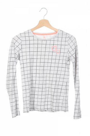 Детска блуза Hema, Размер 12-13y/ 158-164 см, Цвят Сив, 93% памук, 5% еластан, 2% вискоза, Цена 3,94лв.