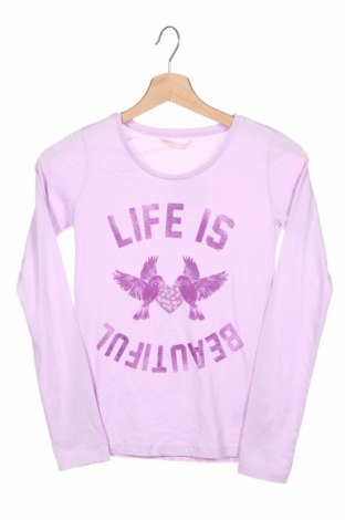 Детска блуза Hema, Размер 10-11y/ 146-152 см, Цвят Лилав, Памук, Цена 4,46лв.