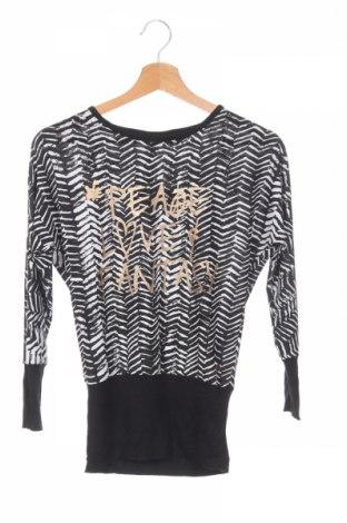 Детска блуза Koin, Размер 11-12y/ 152-158 см, Цвят Черен, 95% полиестер, 5% еластан, Цена 4,20лв.