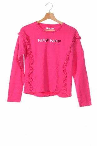 Παιδική μπλούζα Naf Naf, Μέγεθος 12-13y/ 158-164 εκ., Χρώμα Ρόζ , 100% βαμβάκι, Τιμή 12,96€