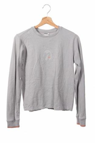 Детска блуза Nike, Размер 5-6y/ 116-122 см, Цвят Сив, 95% памук, 5% еластан, Цена 29,40лв.