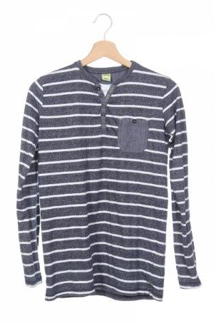 Детска блуза Y.F.K., Размер 12-13y/ 158-164 см, Цвят Син, 70% памук, 30% полиестер, Цена 4,20лв.