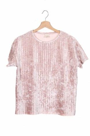 Детска блуза Zara, Размер 12-13y/ 158-164 см, Цвят Розов, 94% полиестер, 6% еластан, Цена 5,51лв.