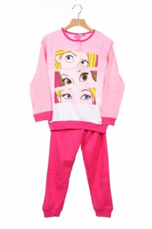 Piżama dziecięca Disney, Rozmiar 4-5y/ 110-116 cm, Kolor Różowy, Bawełna, Cena 71,40zł