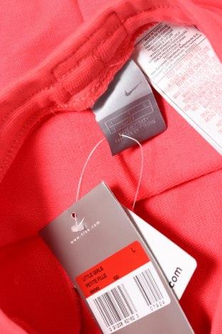 Детска пола Nike, Размер 6-7y/ 122-128 см, Цвят Розов, 80% памук, 20%, Цена 11,70лв.