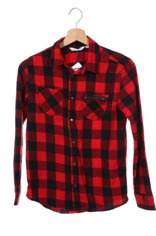 Dziecięca koszula Design By Kappahl, Rozmiar 11-12y/ 152-158 cm, Kolor Czerwony, 100% bawełna, Cena 47,04zł
