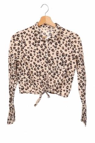 Dziecięca koszula H&M, Rozmiar 14-15y/ 168-170 cm, Kolor Beżowy, 100% wiskoza, Cena 44,10zł