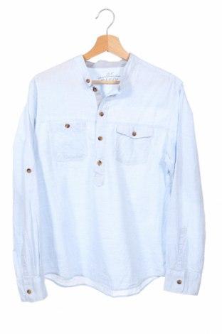 Dziecięca koszula H&M L.o.g.g, Rozmiar 13-14y/ 164-168 cm, Kolor Niebieski, Bawełna, Cena 64,68zł