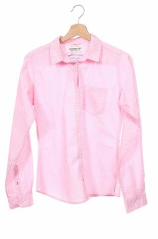 Dziecięca koszula Hampton Republic, Rozmiar 14-15y/ 168-170 cm, Kolor Różowy, Bawełna, Cena 47,04zł