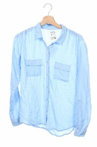 Dziecięca koszula Here+There, Rozmiar 15-18y/ 170-176 cm, Kolor Niebieski, 100% modal, Cena 44,10zł