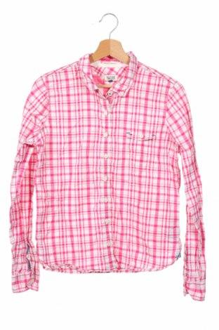 Παιδικό πουκάμισο Hilfiger Denim, Μέγεθος 11-12y/ 152-158 εκ., Χρώμα Ρόζ , 100% βαμβάκι, Τιμή 21,64€