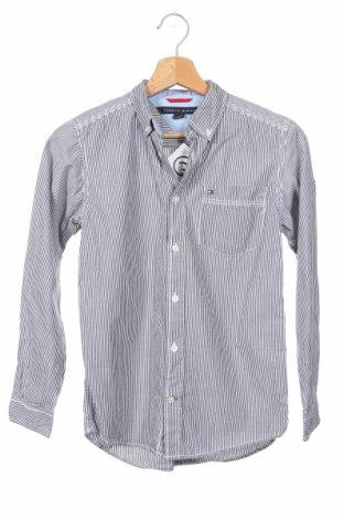 Παιδικό πουκάμισο Tommy Hilfiger, Μέγεθος 13-14y/ 164-168 εκ., Χρώμα Μπλέ, Βαμβάκι, Τιμή 17,83€