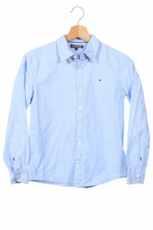 Dziecięca koszula Tommy Hilfiger, Rozmiar 10-11y/ 146-152 cm, Kolor Niebieski, 100% bawełna, Cena 105,84zł
