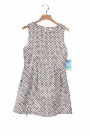 Детска рокля Reserved, Размер 9-10y/ 140-146 см, Цвят Син, 70% памук, 30% полиестер, Цена 16,20лв.