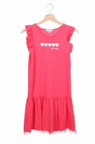 Детска рокля Tex, Размер 13-14y/ 164-168 см, Цвят Червен, Памук, Цена 7,15лв.
