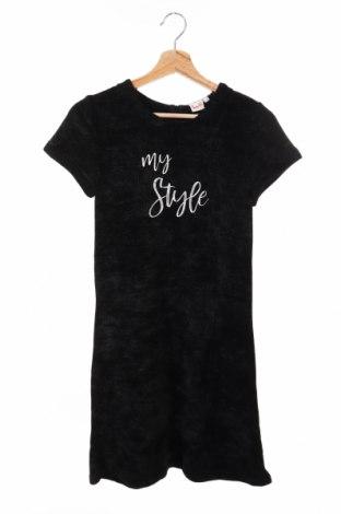 Παιδικό φόρεμα Topo, Μέγεθος 15-18y/ 170-176 εκ., Χρώμα Μαύρο, 100% πολυεστέρας, Τιμή 6,72€