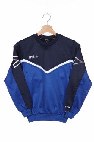 Детска спортна блуза Mitre, Размер 8-9y/ 134-140 см, Цвят Син, Полиестер, Цена 15,20лв.