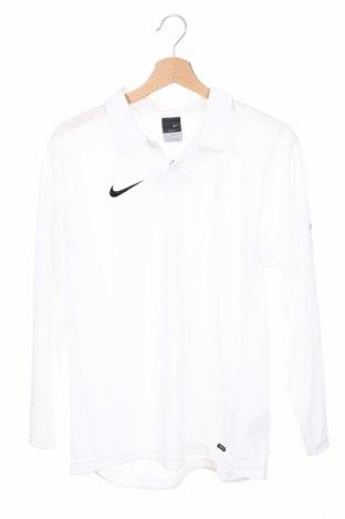 Детска спортна блуза Nike, Размер 14-15y/ 168-170 см, Цвят Бял, Полиестер, Цена 28,60лв.