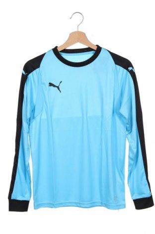 Детска спортна блуза PUMA, Размер 14-15y/ 168-170 см, Цвят Син, Полиестер, Цена 23,10лв.