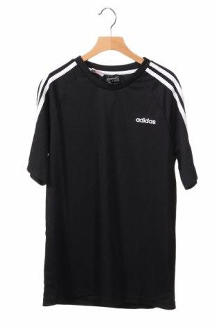 Παιδικό μπλουζάκι Adidas, Μέγεθος 12-13y/ 158-164 εκ., Χρώμα Μαύρο, Πολυεστέρας, Τιμή 15,59€