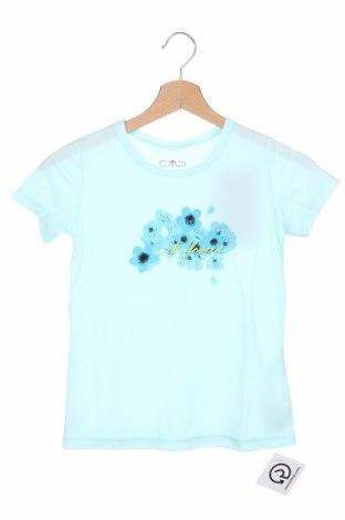 Detské tričko CMP, Veľkosť 7-8y/ 128-134 cm, Farba Modrá, Polyester, Cena  11,87€