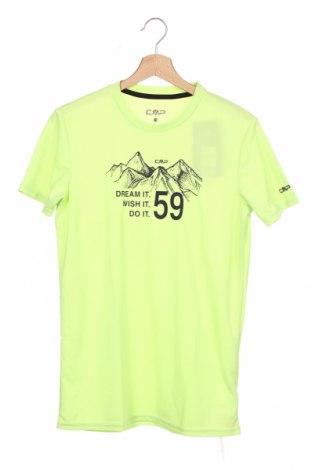 Detské tričko CMP, Veľkosť 15-18y/ 170-176 cm, Farba Zelená, Polyester, Cena  11,87€