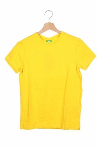 Detské tričko Erima, Veľkosť 11-12y/ 152-158 cm, Farba Žltá, 95% bavlna, 5% elastan, Cena  10,47€