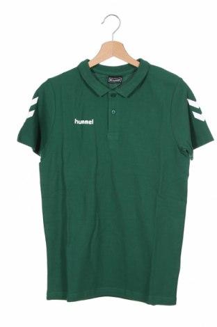 Detské tričko Hummel, Veľkosť 15-18y/ 170-176 cm, Farba Zelená, Bavlna, Cena  10,76€