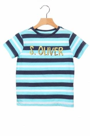 Detské tričko S.Oliver, Veľkosť 18-24m/ 86-98 cm, Farba Modrá, Bavlna, Cena  12,99€